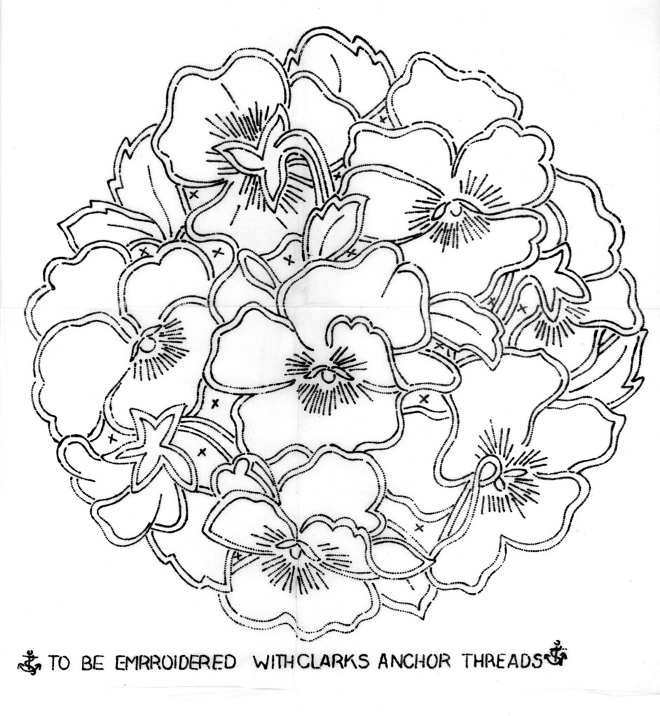 Anchor pansy cutwork brian campbell flickr for Thread pool design pattern