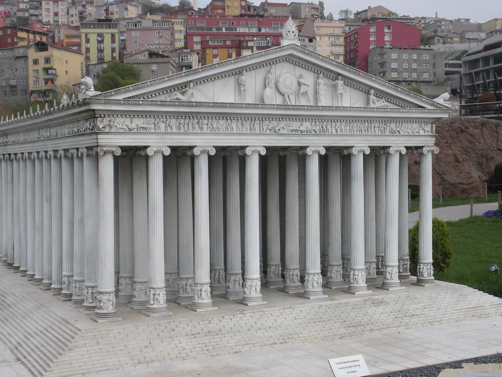 model of Temple of Artemis Ephesus | MINIATURK, Sütlüce, I ...