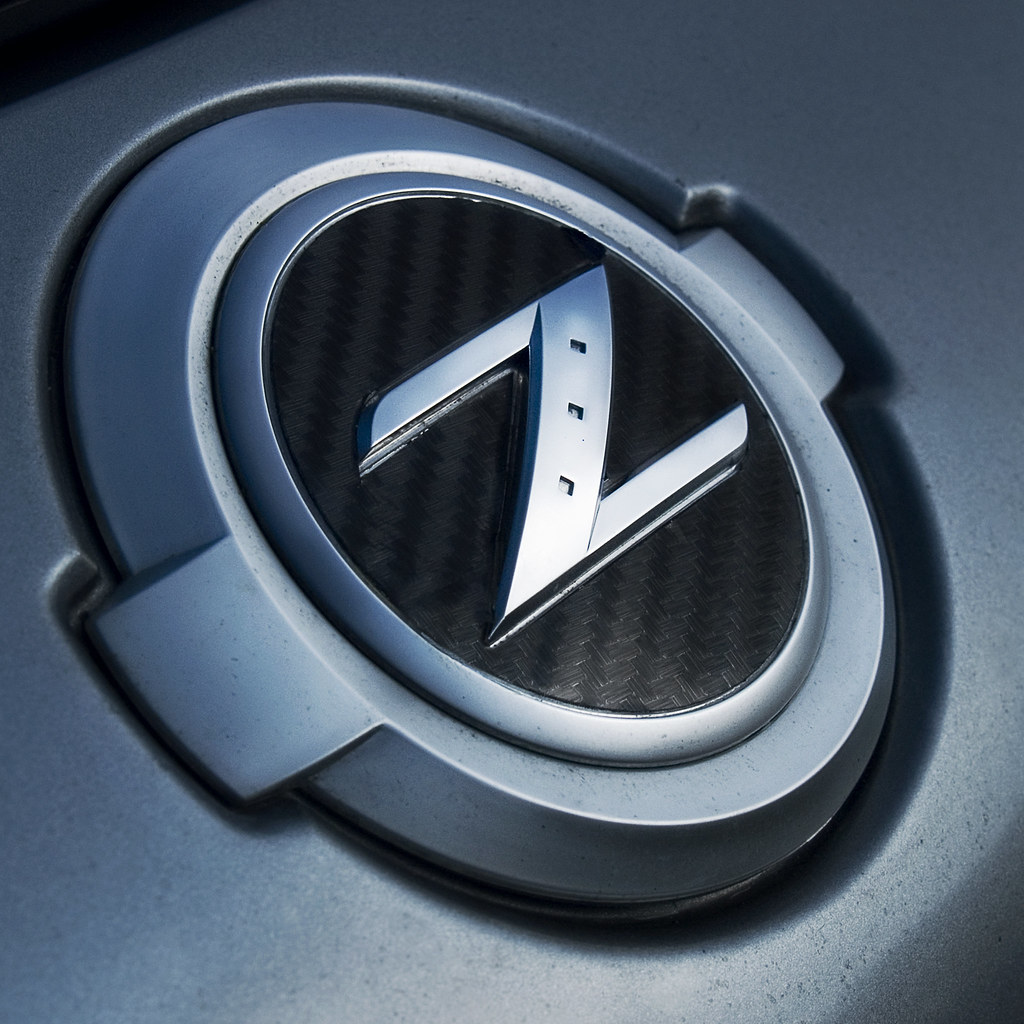 Z Badge From Nissan 350Z