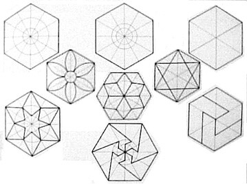 how to draw a perfect heptagon