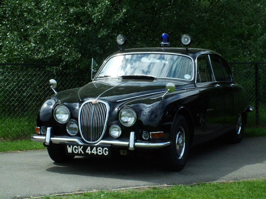 Police S Type Jag 1968 Jaguar S Type 3 8 Police Car