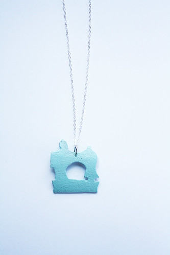 Sewing Machine Necklace | by ohsohappytogether