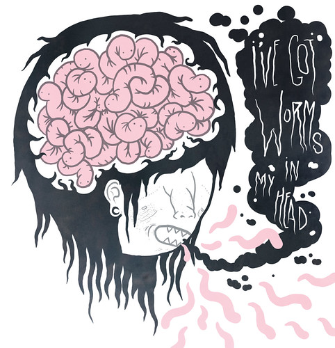 ive got worms in my head | by • trevor▲nicholls •