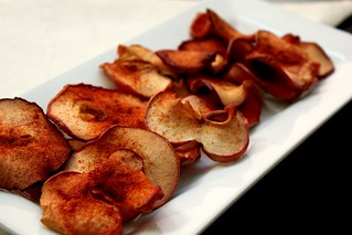 baked apple chips | by pastryaffair