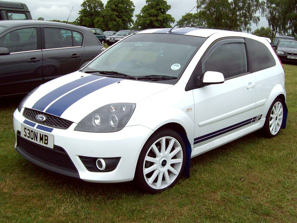 271 ford fiesta st mk v face lift 2007 ford fiesta st. Black Bedroom Furniture Sets. Home Design Ideas