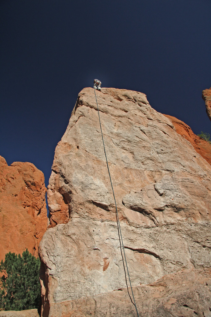 Garden of the gods colorado springs rock climbing in gard flickr for Garden of the gods rock climbing
