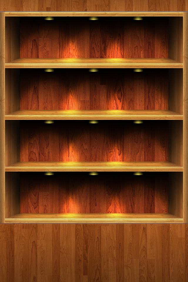 App Shelf Wallpaper
