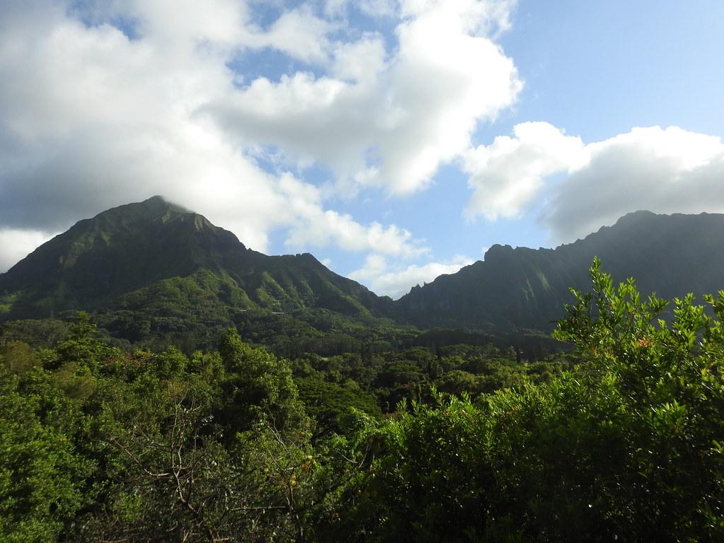 Mount Olympus Pali Gap Koolau Ridgeline Mount Olympus Flickr