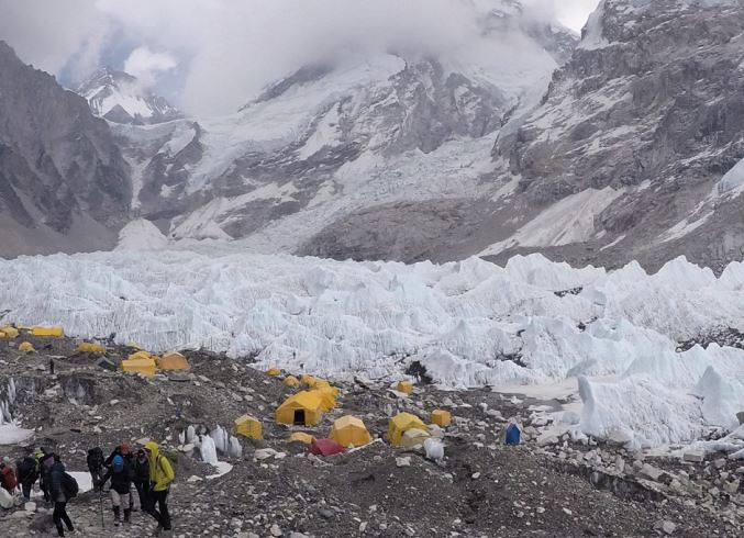 Base Camp Everest - 5.350m