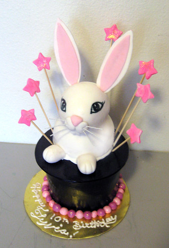 Bunny Birthday Cakes Pictures