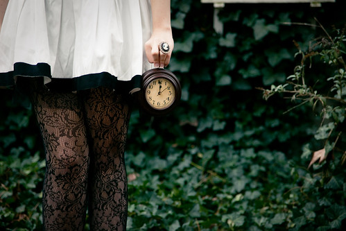 Alice in Wonderland: White Rabbit - No Time to Say Hello, Goodbye... | by Brandon Christopher Warren