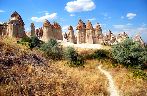 fairy chimneys, cappadocia | by hopemeng