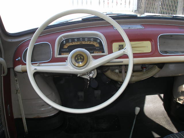 Renault dauphine 1960 inside willem s knol for Interieur 1960