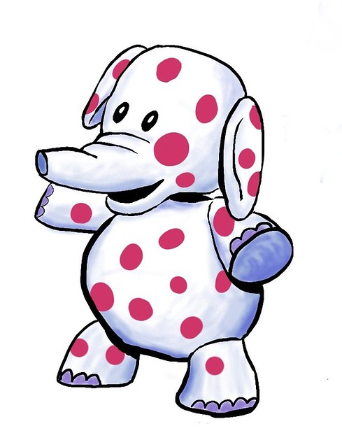 land of misfit toys coloring pages - misfit elephant the elephant from the land of misfit