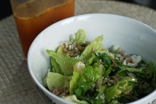Salad with Honeybell Orange Rosemary Dressing | by Sarah :: Sarah's Cucina Bella