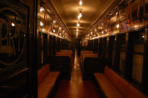 old train car interior an old interior of a brooklyn rapid flickr. Black Bedroom Furniture Sets. Home Design Ideas