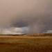 isolated rain in the teton valley