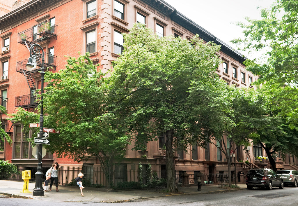 Thomas wolfe residence built c 1900 no 5 montague ter for 2 montague terrace brooklyn heights
