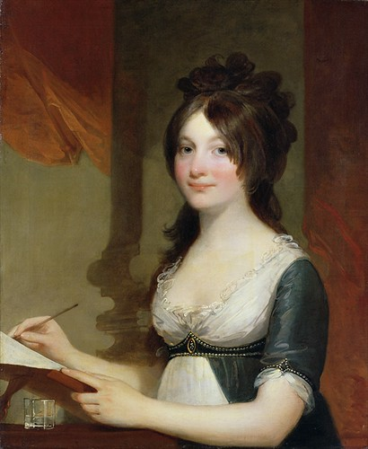 """Portrait of a Young Woman,"" by Gilbert Stuart 