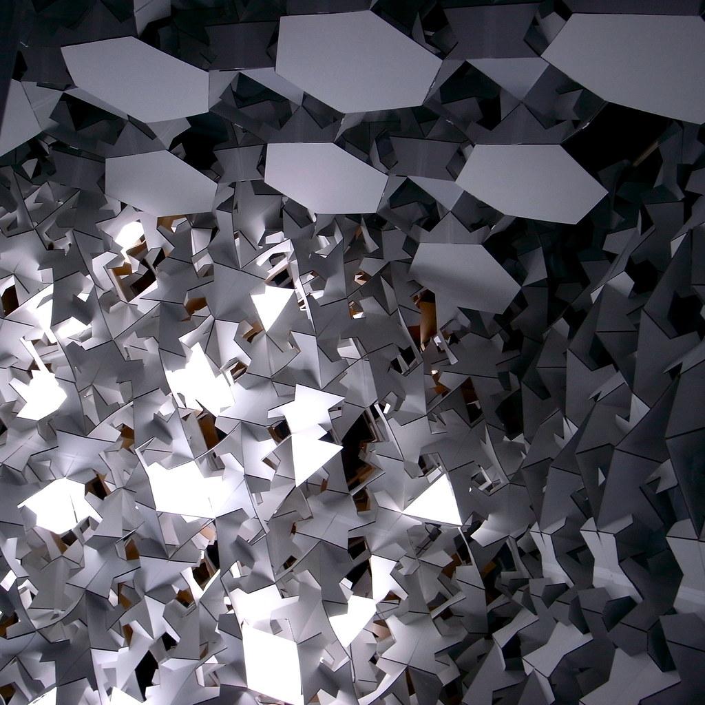 origami shrine trout monroe flickr