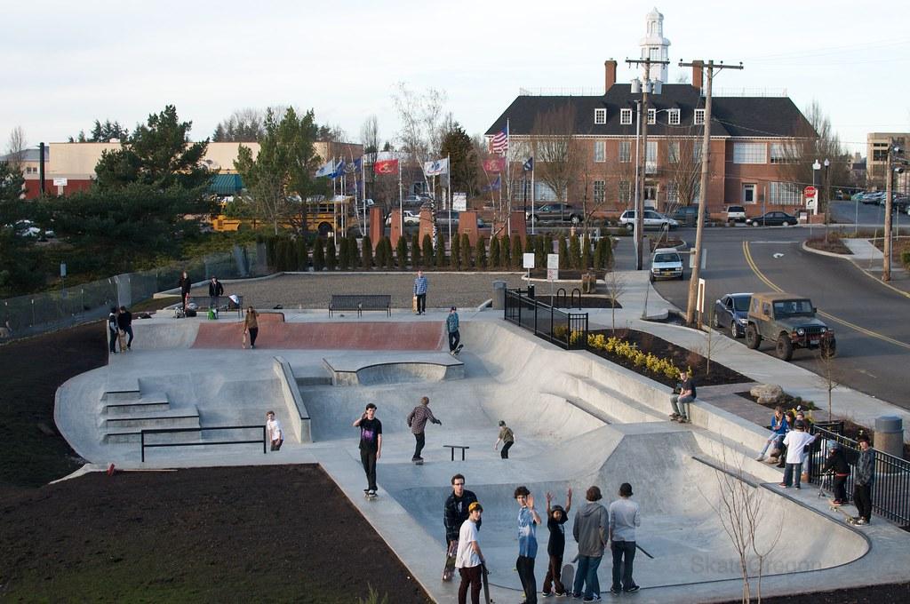 Main city park