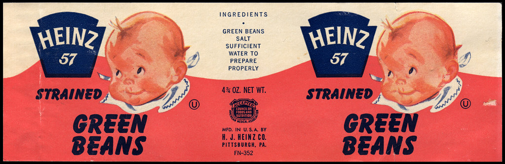 Strained Beans Baby Food