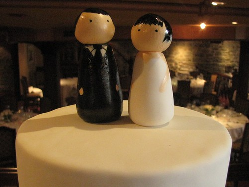 Custom Wedding Cake Topper | by clevercupcakes