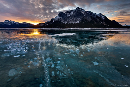 1st frozen sunrise... | by Mac Danzig Photography