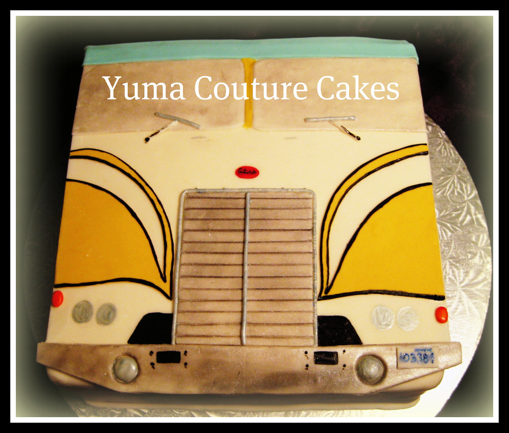 Peterbilt Truck Yuma Arizona Birthday Cake Peterbilt