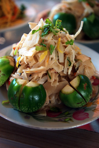 Bamboo Shoot Salad, Loas | by The Hungry Cyclist