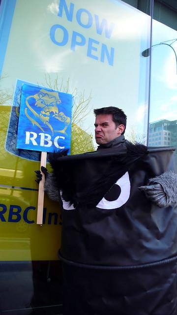 RAN Rally & March at RBC AGM, Toronto