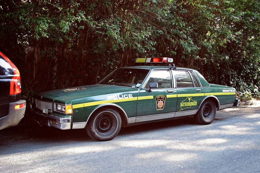 New Pa State Police Car