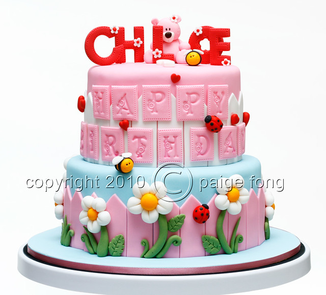 Cake For Sweet Chloe Paige Fong Flickr
