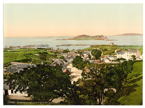 [Howth and Ireland's Eye. County Dublin, Ireland] (LOC) | by The Library of Congress