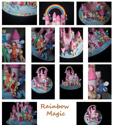 Rainbow Cake Castle