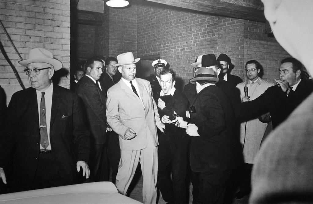Jack Ruby Shooting Oswald