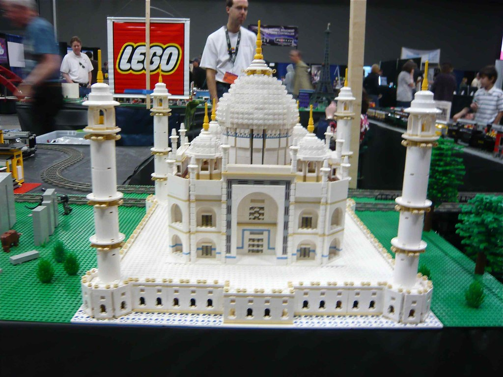 lego taj mahal by the texas lego users group. Black Bedroom Furniture Sets. Home Design Ideas