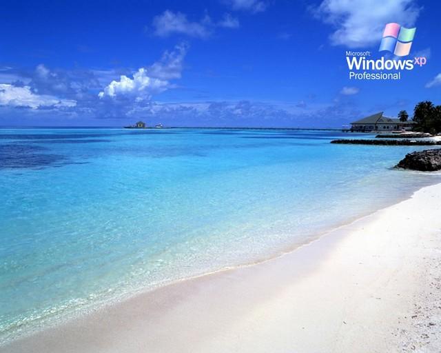Windows XP Beach Wallpaper 1024x768