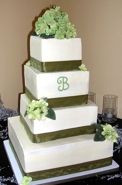 square 4 tier wedding cakes hydrangea square 4 tier wedding cake briggs wedding 20343