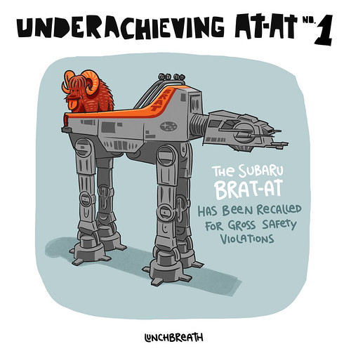 Underachieving AT-AT #1 | by lunchbreath