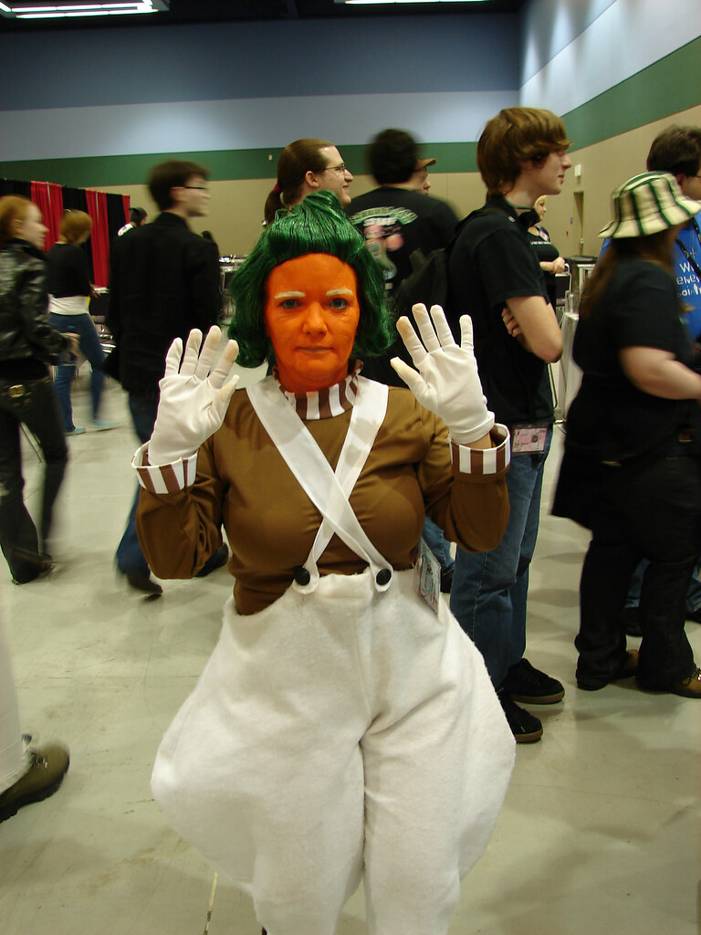 Oompa-Loompa (Charlie and the Chocolate Factory)   Seattle.roamer ...