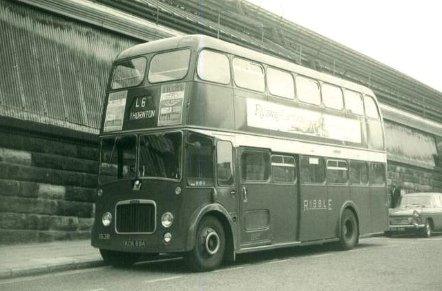 Ribble Motor Services . 1538 KCK884 . Liverpool . August-1 ...