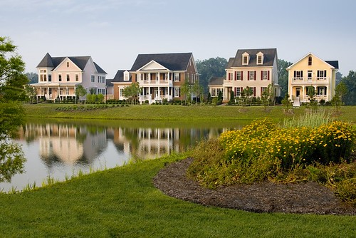 Easton Village houses on the water | by Easton Village