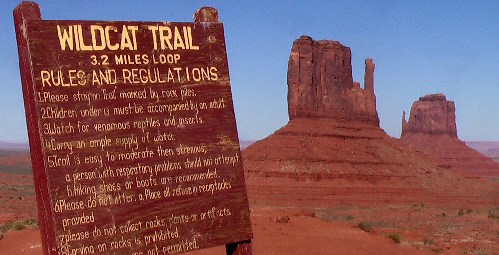 Wildcat-Trail,-Monument-Valley-Trailhead