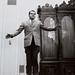 "Richard Nixon in ""The Jump Book"" by Philippe Halsman"
