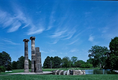 Sandstone Columns, Pioneers Park, May, 2010 | by Maggie Osterberg