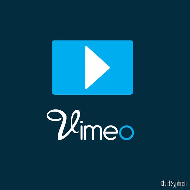 Vimeo button png vimeo logo concept play