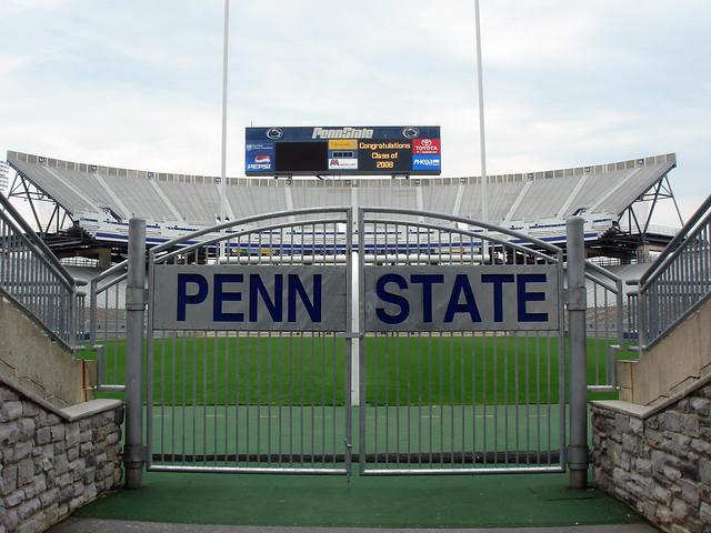 Beaver Stadium Field Entrance Gate Flickr Photo Sharing