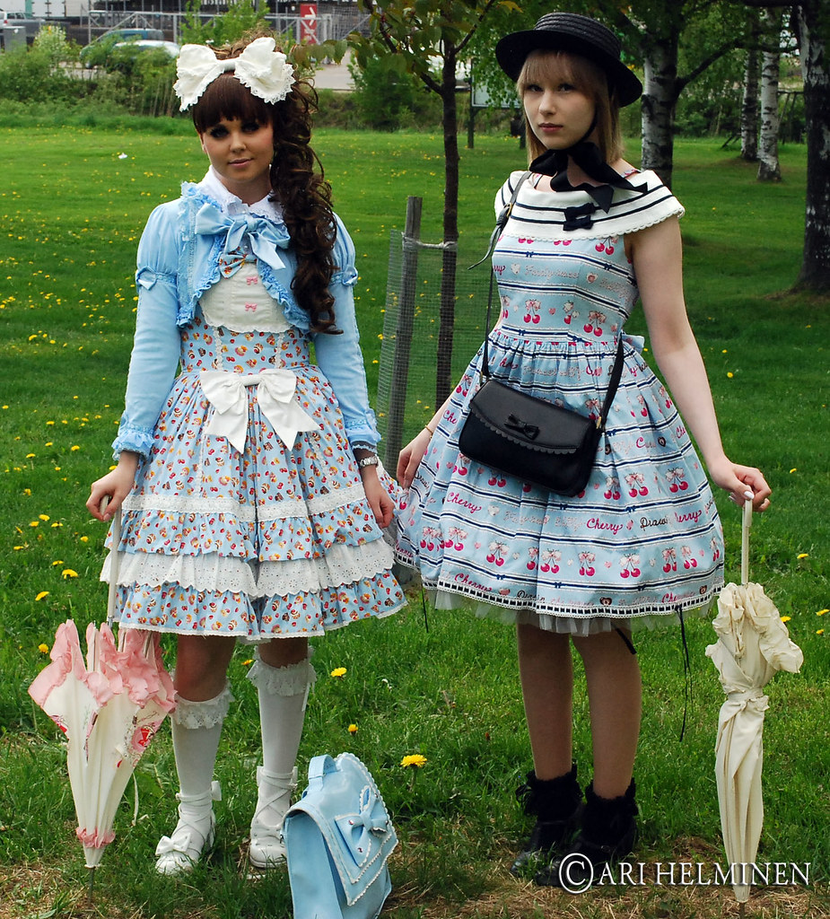Lolita Fashion Helsinki Read More About This Day And My Flickr