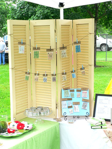 Antique Shutters Clothespin Display This Week I Tried
